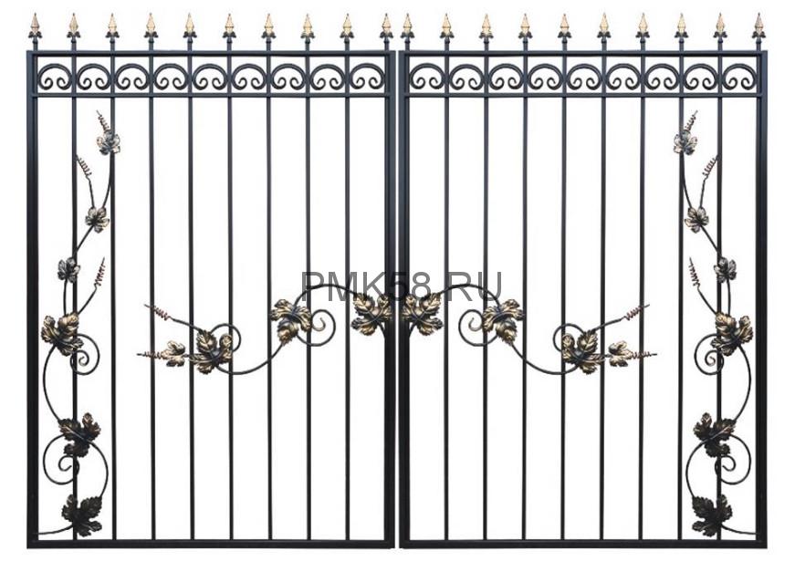 Ворота Дачные Лоза 2