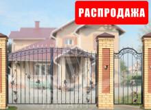 Ворота Дачные арочные Лоза