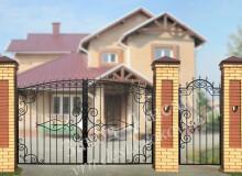 Ворота Олимпия арочные