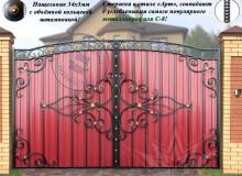 Ворота Олимпия С-8 МПА