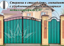 Ворота СМПА С-8