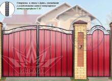 Ворота Весенние МПА С-8